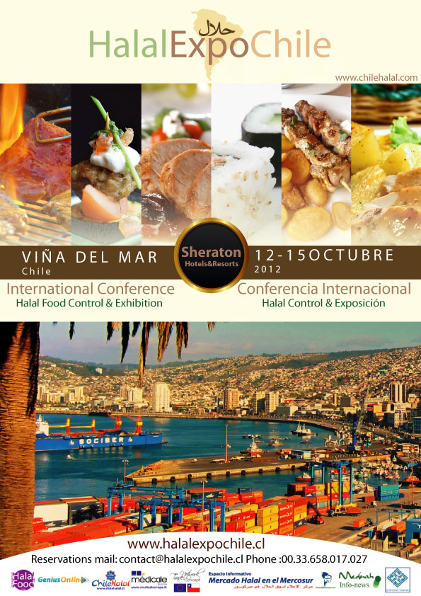 Chilehalal Sponsor Oficial de «Halal Expo Chile-Octubre 2012»