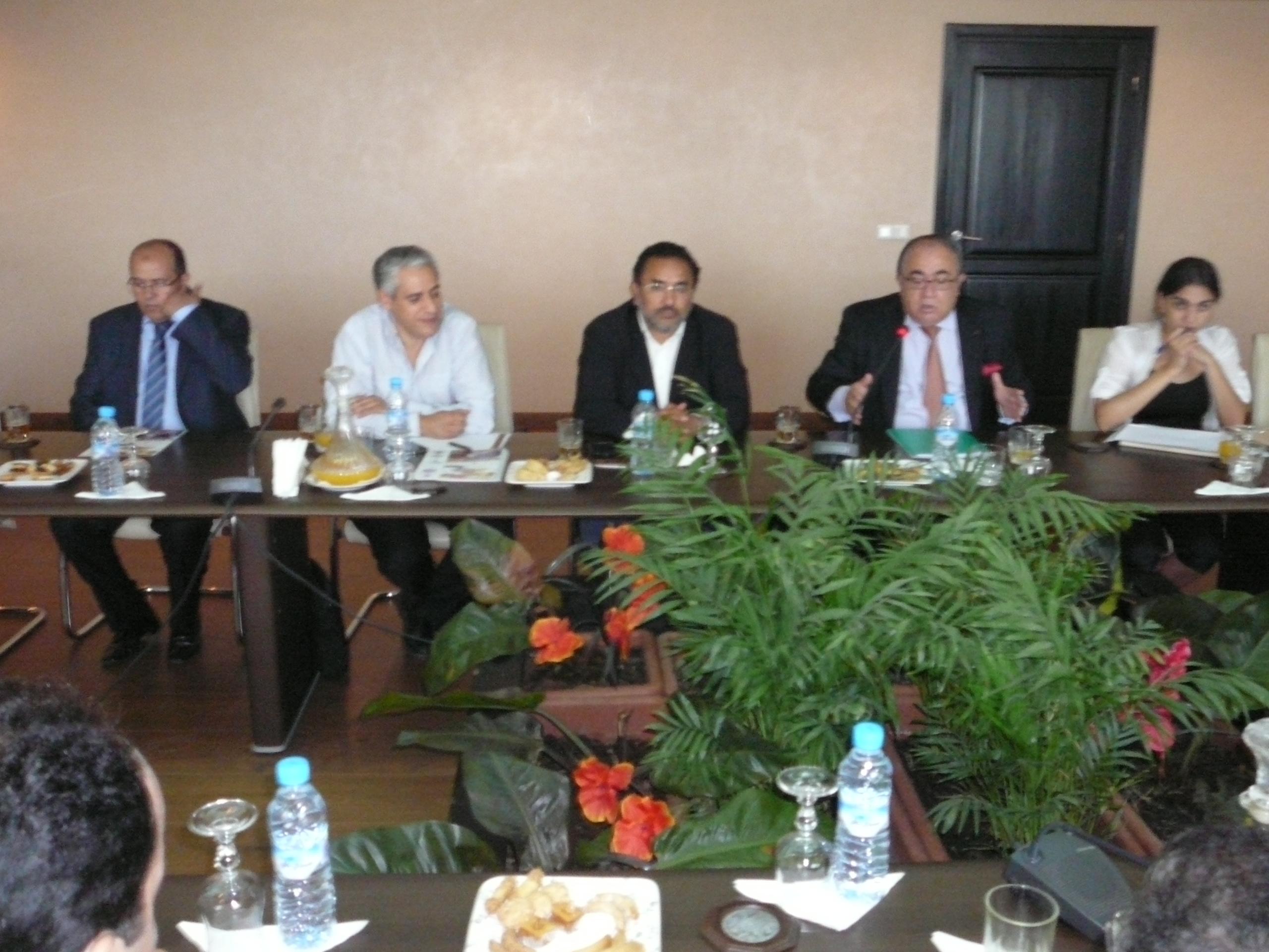 Chilehalal & Koutoubia Holding Invitan al embajador de Chile en Marruecos