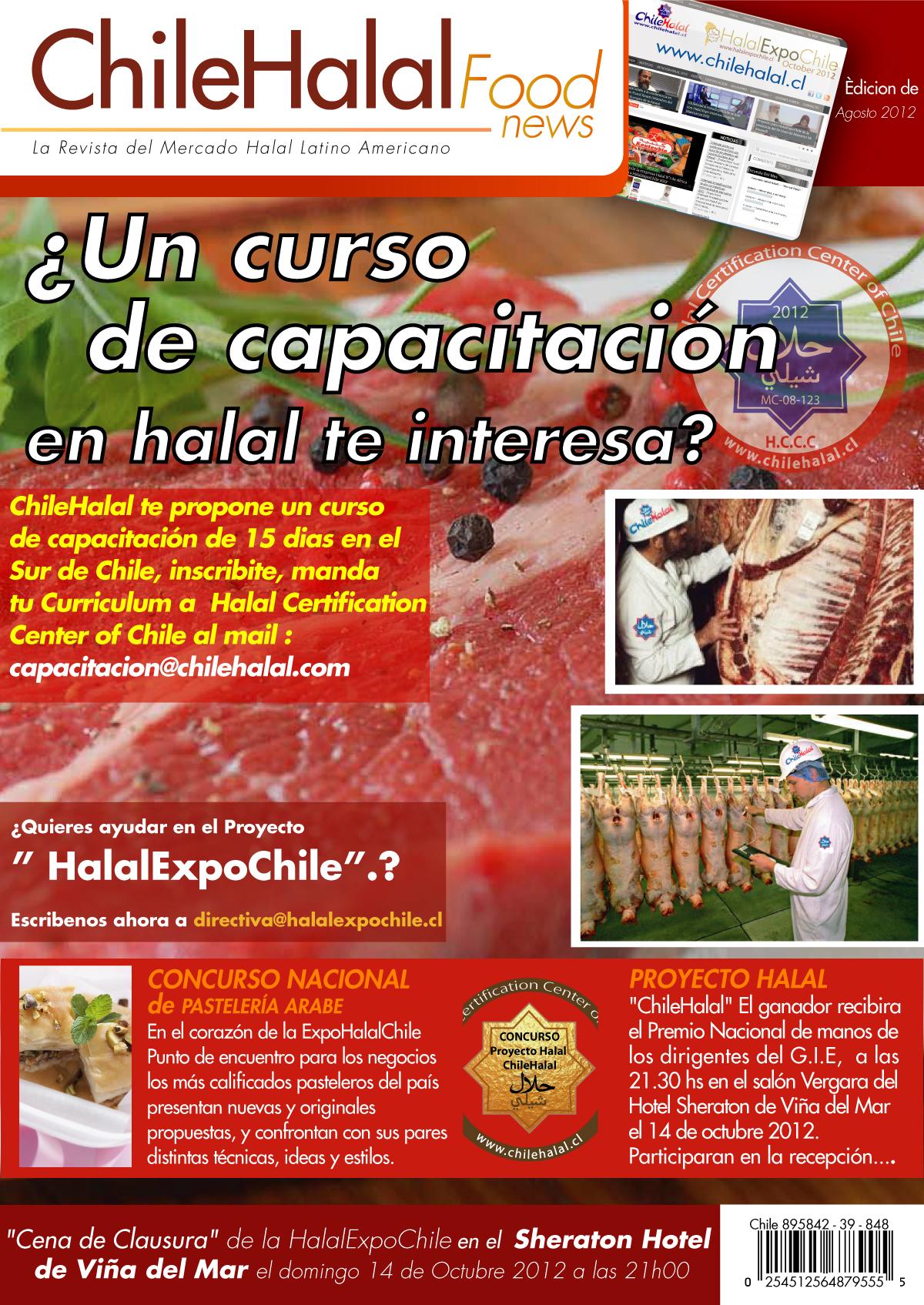 2° Curso de capacitación en halal en el sur de Chile