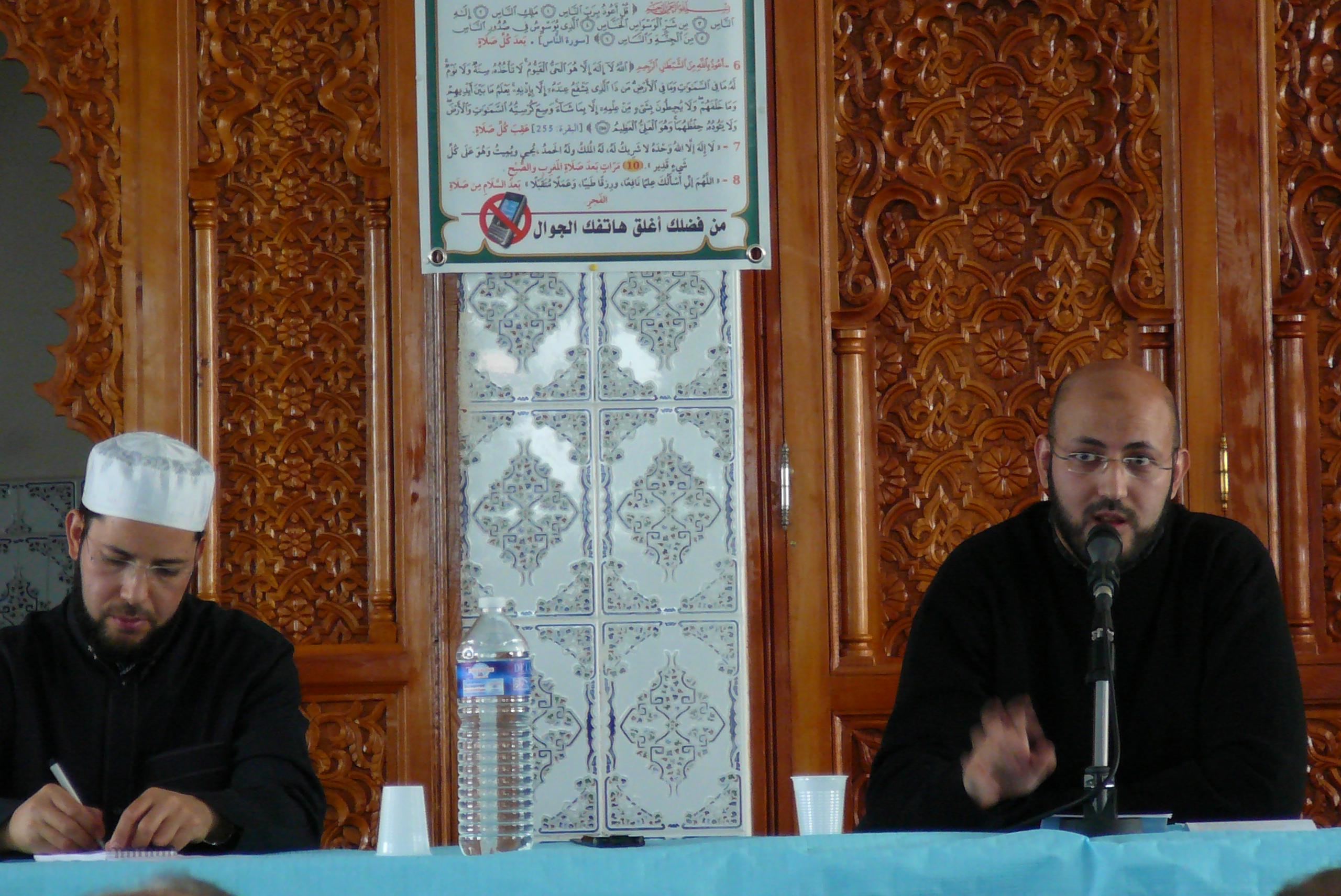 Chilehalal participa : Conferencia sobre Halal – Por Fethallah Otmani (Associación a Vuestro Servicio E.U) – Mezquita El Mohsinine – Bourg en Bresse -Francia  Domingo, 11 de noviembre a 13:30