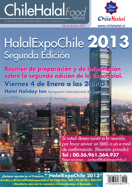 HalalExpoChile 2013 Segunda Edición.Reunión de preparación y de información