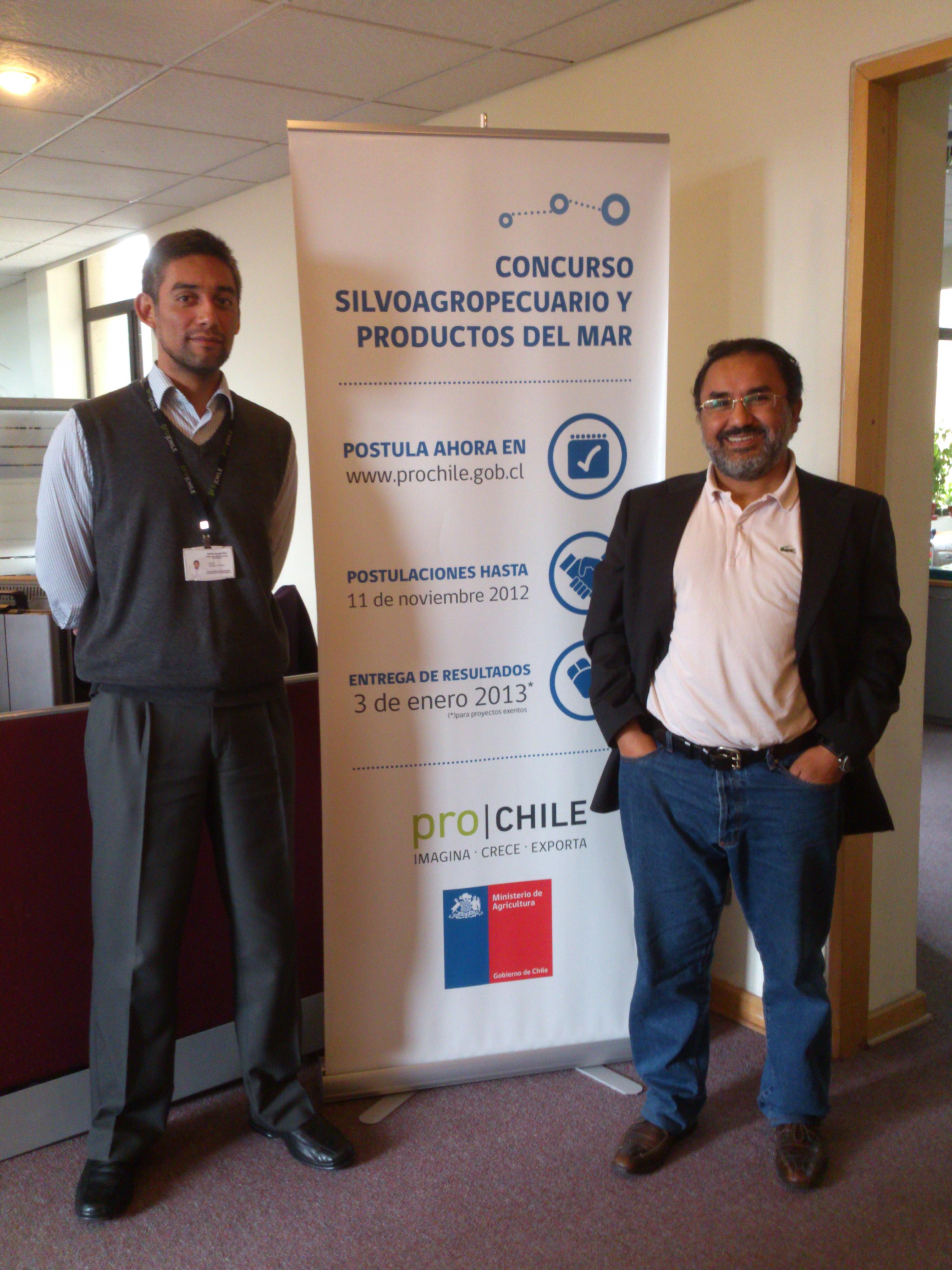 Reunion en las oficinas de Prochile Santiago para la preparacion de la HalalExpoChile 2013