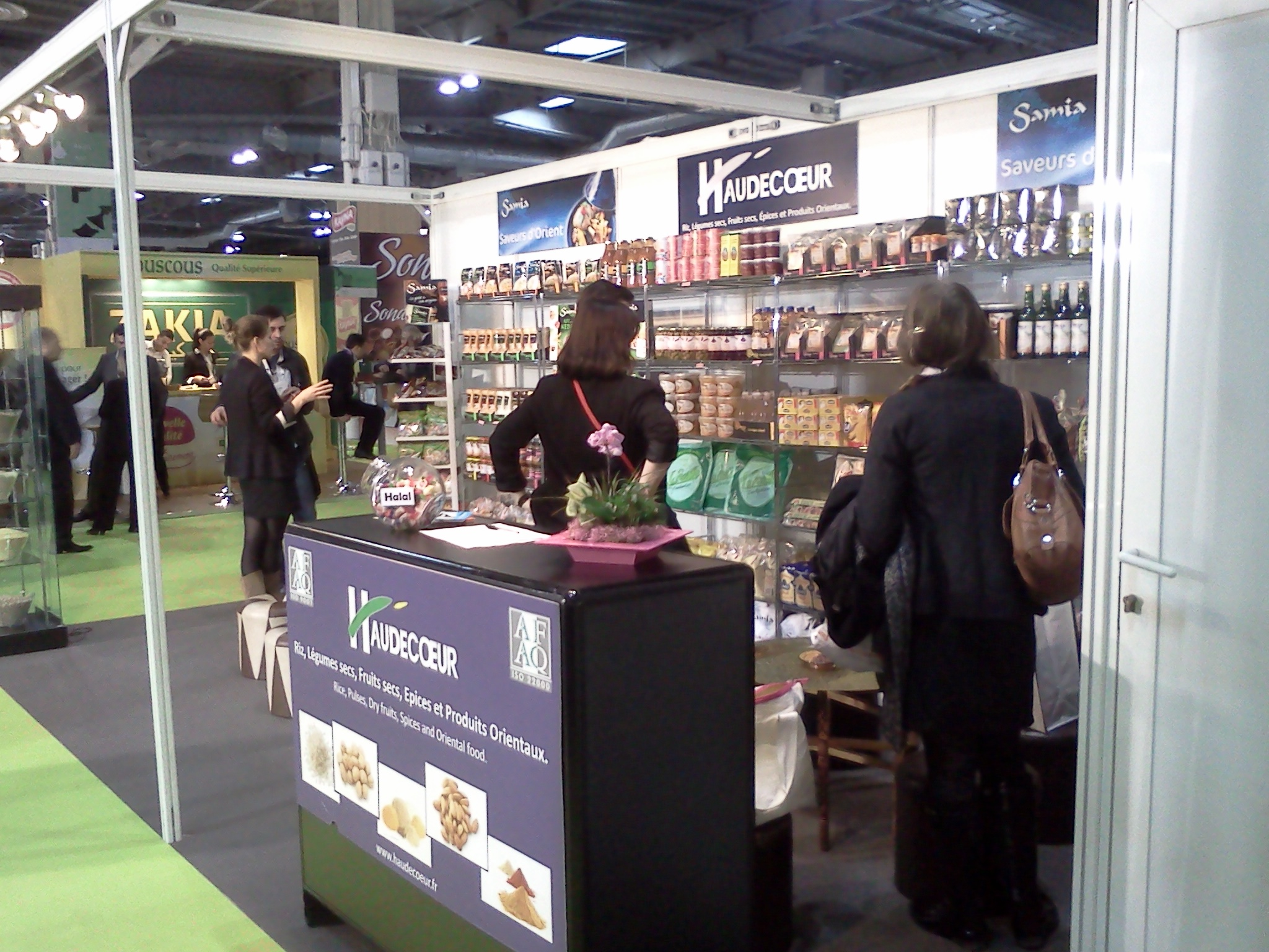 Chilehalal visita el Salon HalalExpo Paris 2013
