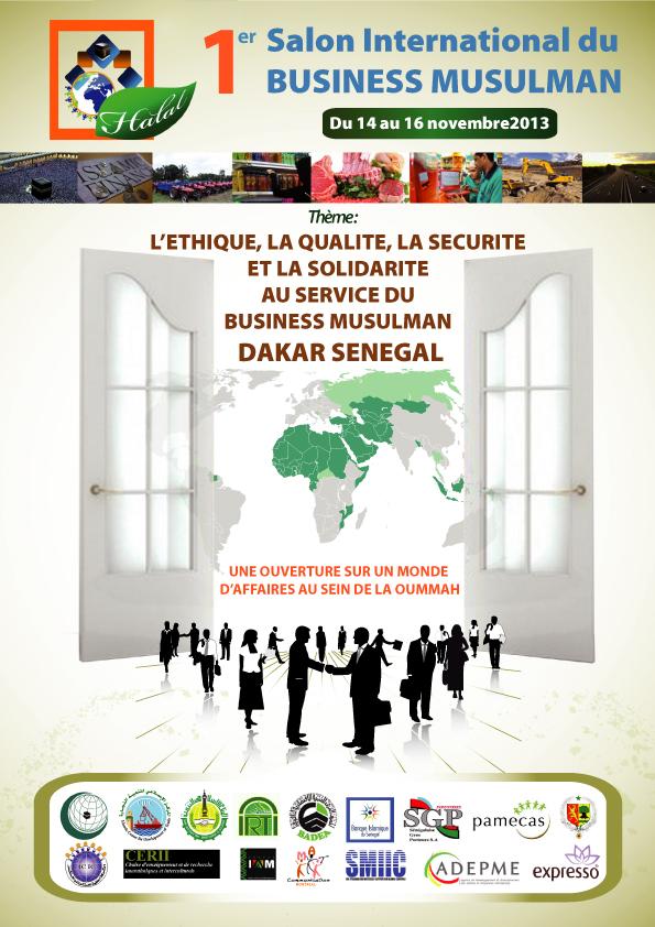 Chilehalal socio del Foro de Negocios Musulmanes en Dakar Senegal Noviembre 2013