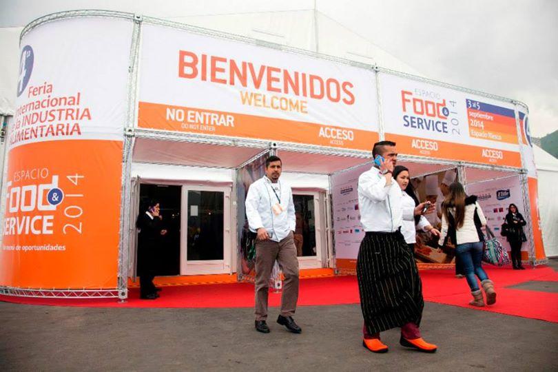 Chilehalal presente en la FOOD SERVICE 2014 Espacio Riesco en Santiago de Chile 5 de septiembre 2014