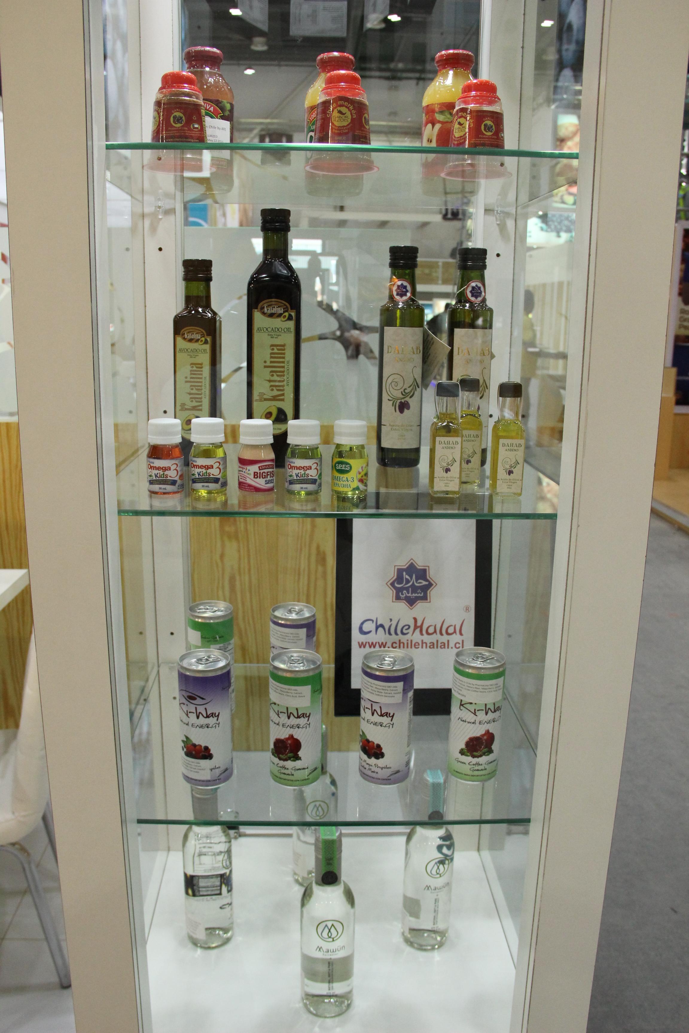 Chilehalal en Gulfood 2015 Dubaï promoviendo los productos chilenos y la Halal Expo Latino Americana en el Stand de Prochile