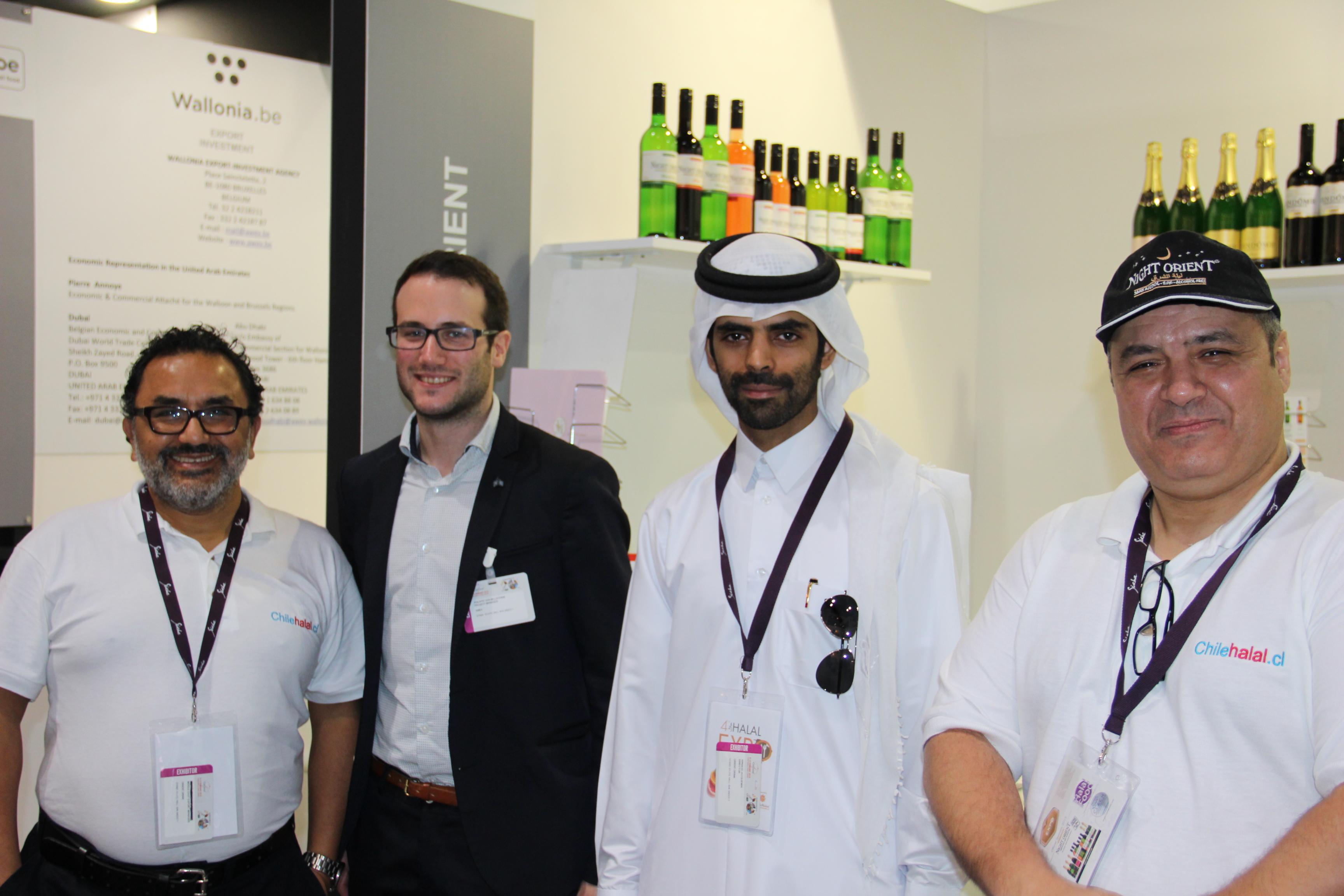 Chilehalal en Gulfood 2015 en Dubaï