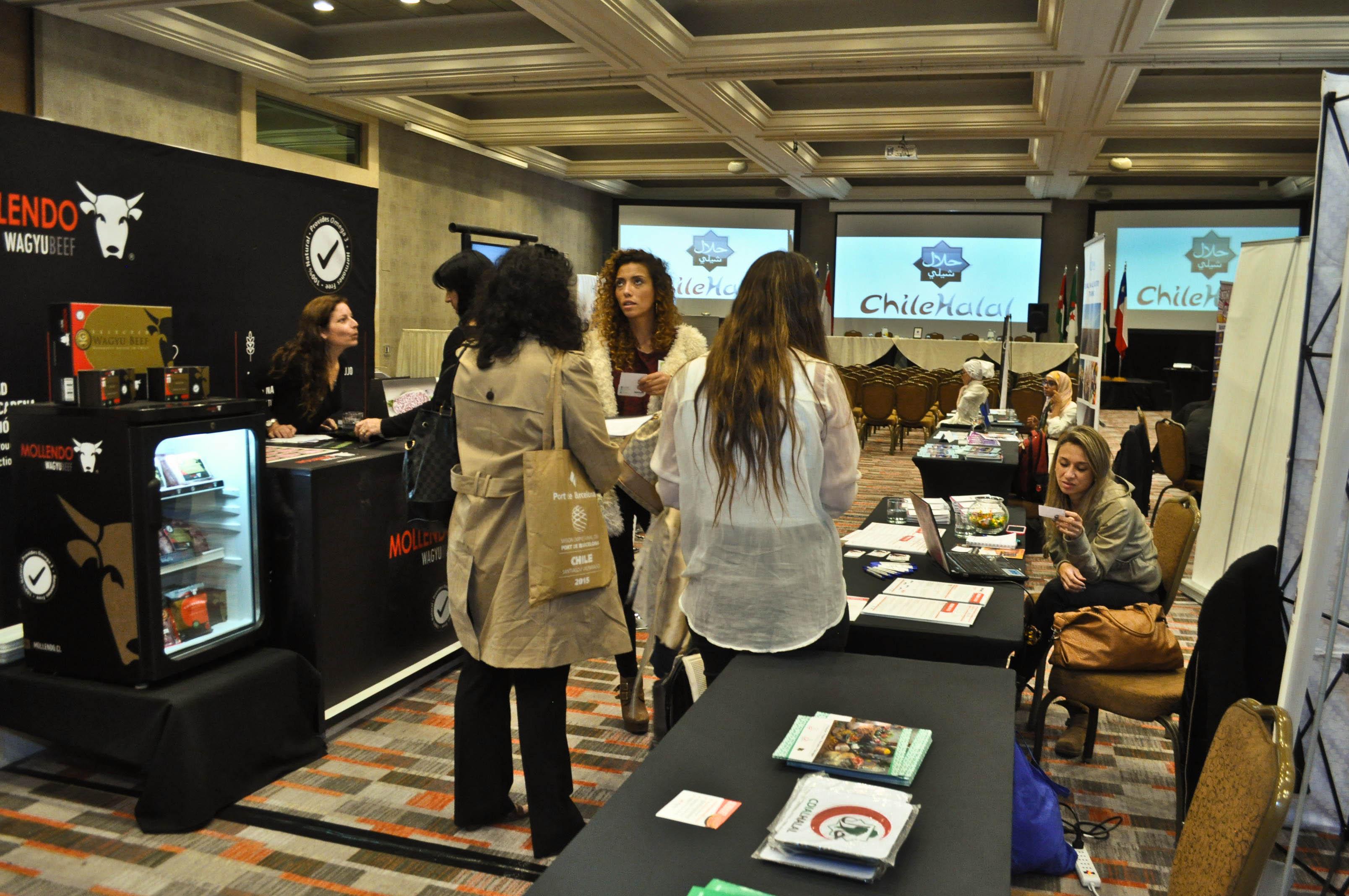 Manquenor ( Certificado por Chilehalal) destaca en la 4°HalalExpo LatinoAmericana 2015