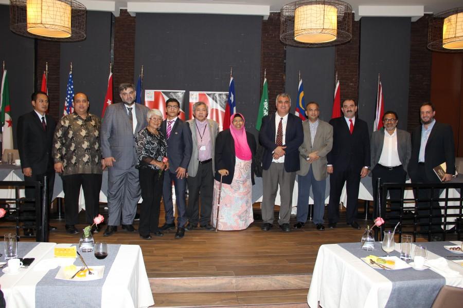 Chilehalal organizo su 4°Halal Dinner anual en el Intercontinental de Santiago de Chile