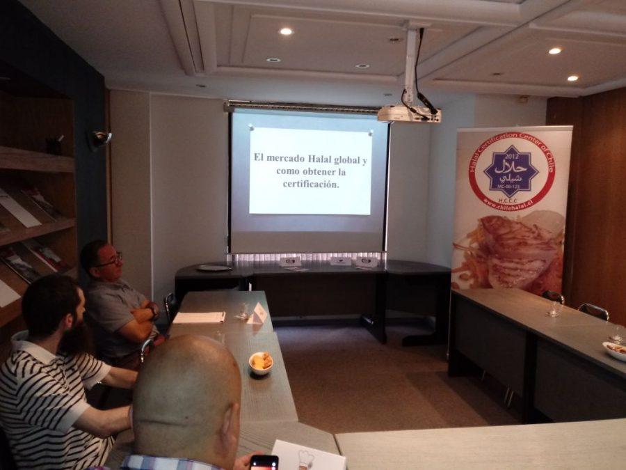 Primer Taller del ciclo Halal organizado por Chilehalal en Santiago