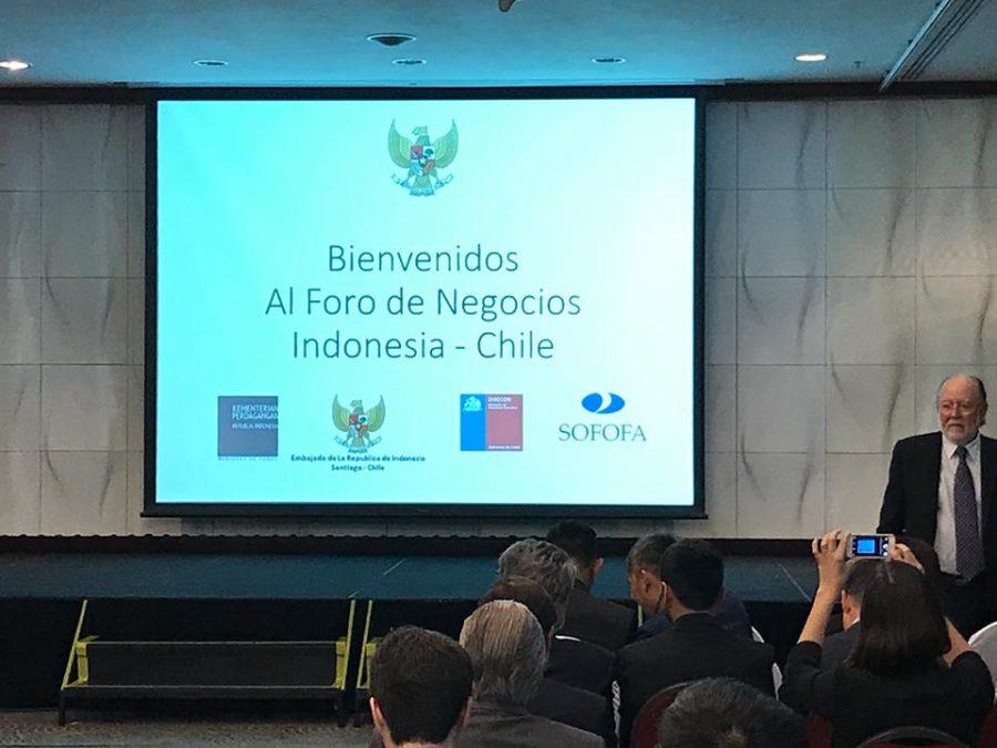 El Centro de Certificación Halal de Chile invitado al Foro de negocios Indonesia-Chile en Santiago.