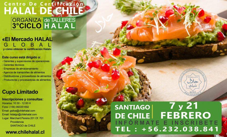3° CICLO DE TALLERES HALAL EN SANTIAGO DE CHILE